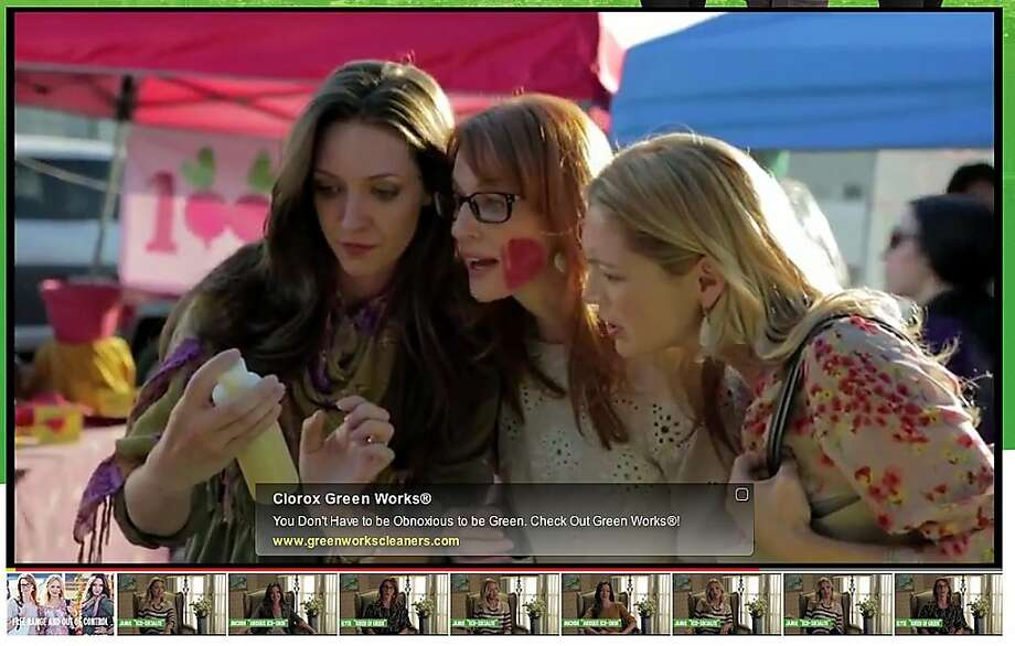 "Clorox's Web series ""The Green Housewives"" goes for comic effect, but its aim is serious: increasing sales of the company's Green Works line of cleaners, which haven't sold as briskly as executives would like. Photo: Greenworkscleaners.com"