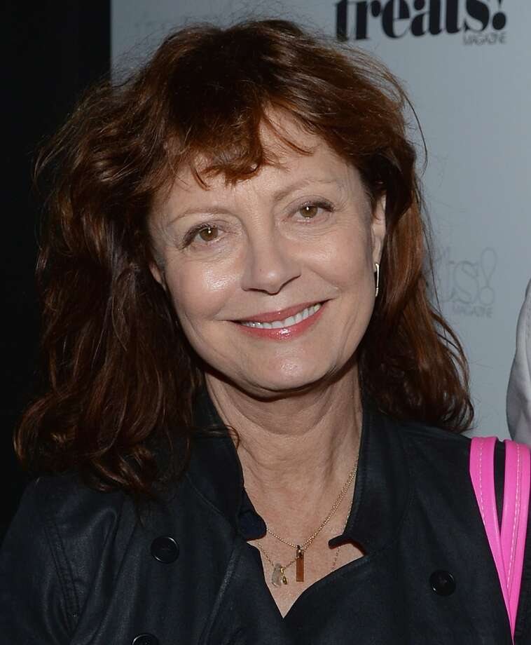 "Susan Sarandon attends Robin Thicke ""Blurred Lines"" Record Release Party at No. 8 on September 4, 2013 in New York City.  (Photo by Dimitrios Kambouris/Getty Images) Photo: Dimitrios Kambouris, Getty Images"