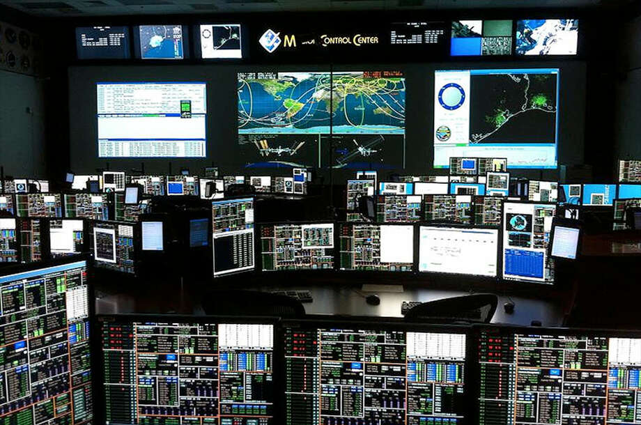 NASA released this photo of an updated Mission Control at Johnson Space Center in Houston.