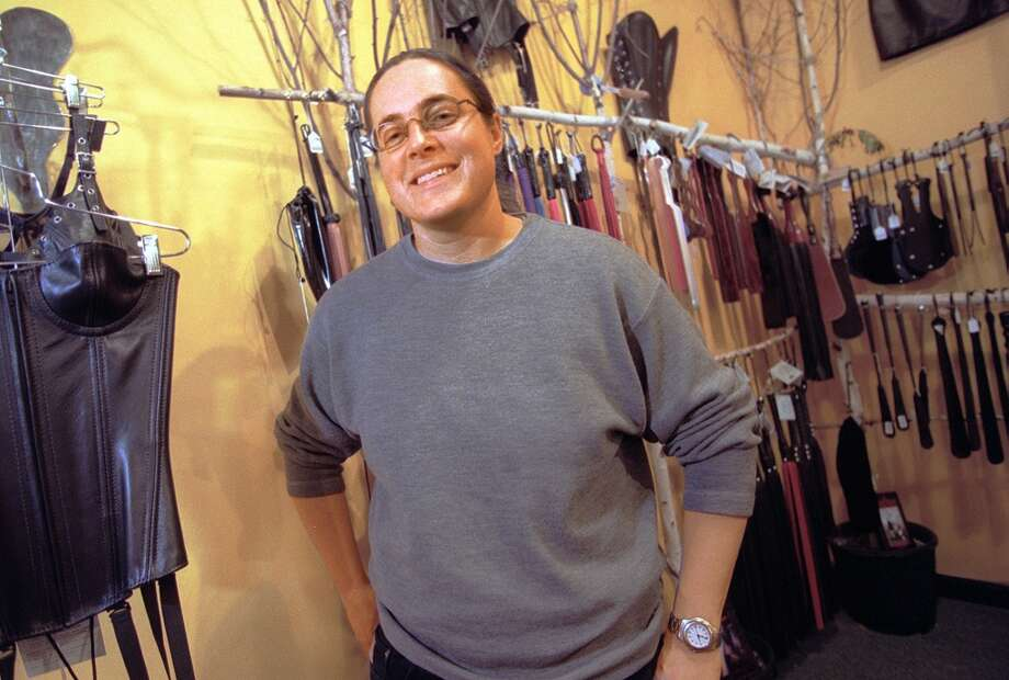 Babeland co-founder Rachel Venning is pictured in her Seattle store in Capitol Hill in 1998. Photo: RICK GIASE/Seattle Post-Intelligencer