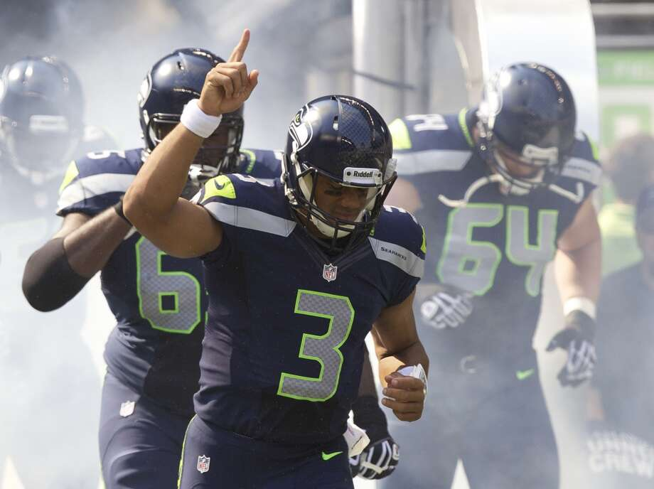 10 reasons the Seahawks will win the Super Bowl  There's a lot of hype, to say the least, around the Seattle Seahawks this season. In its latest poll, ESPN kept the Seahawks at No. 1 in the NFL despite unexpected injuries, and The Associated Press ranked them second in the league (tied with Denver). Hot off a breakthrough season last year and with a roster full of talented youngsters and veterans, the Seahawks will come out this year trying to finish the job. Can they go all the way?  Here are 10 reasons the Seahawks could win the Super Bowl this season. Photo: Stephen Brashear, Getty Images