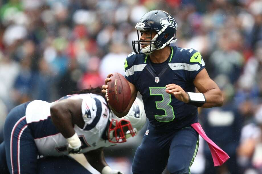 1. Russell Wilson will only get betterSure, a lot of people are talking about the possibility that Russell Wilson will slump in his second season, but we don't expect so. A runner-up for Offensive Rookie of the Year last season, Wilson got off to a slow start in 2012 as he adjusted from college to the NFL, yet excelled in the second half as a dynamic leader for Seattle's offense. With the obscene amount of work Wilson puts into his job -- watching game tape in just about every free moment -- we'd be surprised if he doesn't hit the ground running in 2013. Photo: Joshua Trujillo, Seattlepi.com