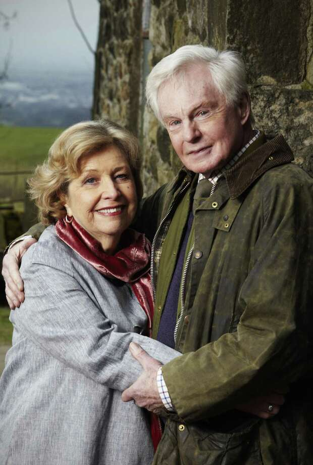 """Anne Reid and Derek Jacobi play 70-somethings rekindling an old relationship in """"Last Tango in Halifax,"""" beginning Sunday on KLRN.  Photo: PBS"""