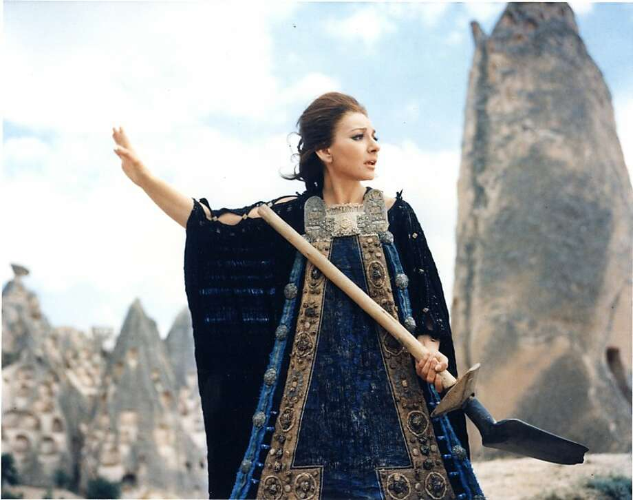 "Pier Paolo Pasolini's 1969 film ""Medea"" stars opera singer Maria Callas in her only film role. Photo: Courtesy MoMA"