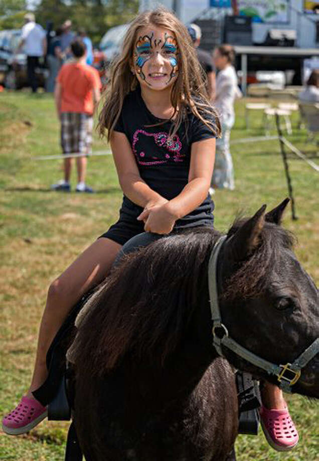 Pony rides will be among the many activities offered at the Live Green Connecticut! festival in Norwalk, Conn., on Saturday and Sunday, Sept. 14 to 15, 2013. Admission is $5 per car. Food and items will be available for purchase, too. For more information, visit http://livegreenct.com. Photo: Contributed Photo / Stamford Advocate Contributed