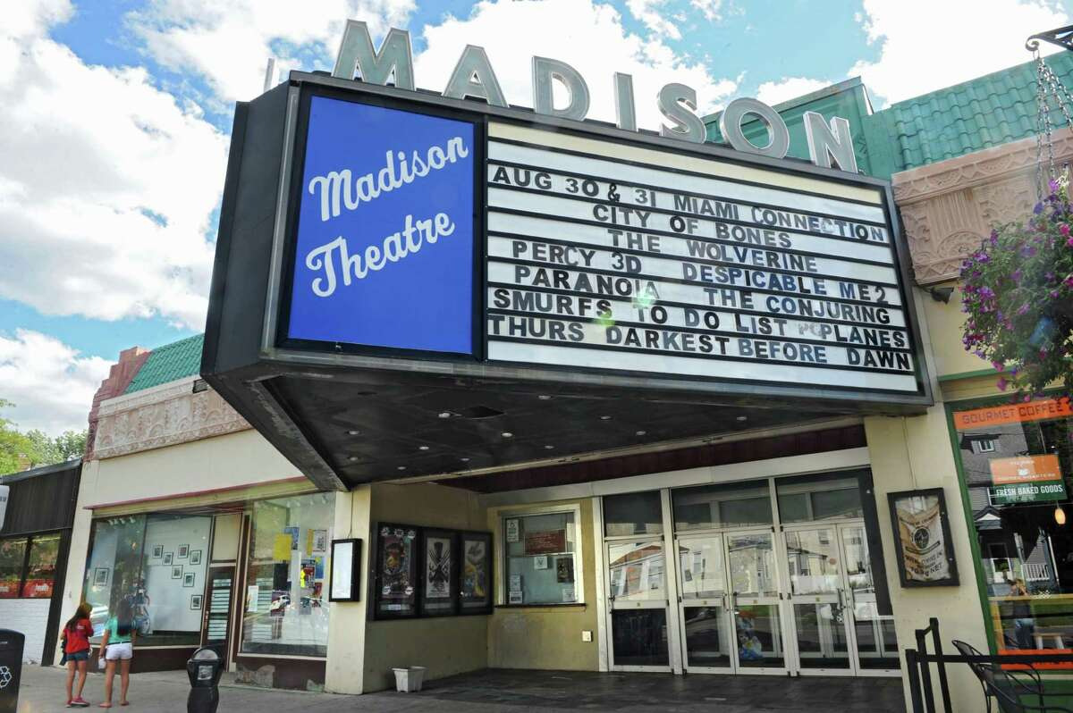 Exterior of the Madison Theatre on Thursday, Sept. 5, 2013 in Albany, N.Y. The theatre has a new owner. (Lori Van Buren / Times Union)