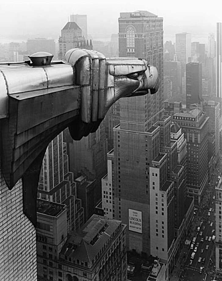 George Tice - From the Chrysler Building, New York, 1979