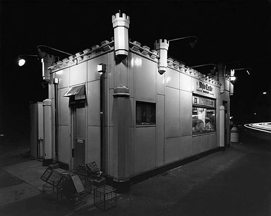 George Tice - White Castle, Route #1, Rahwway, New Jersey, 1973