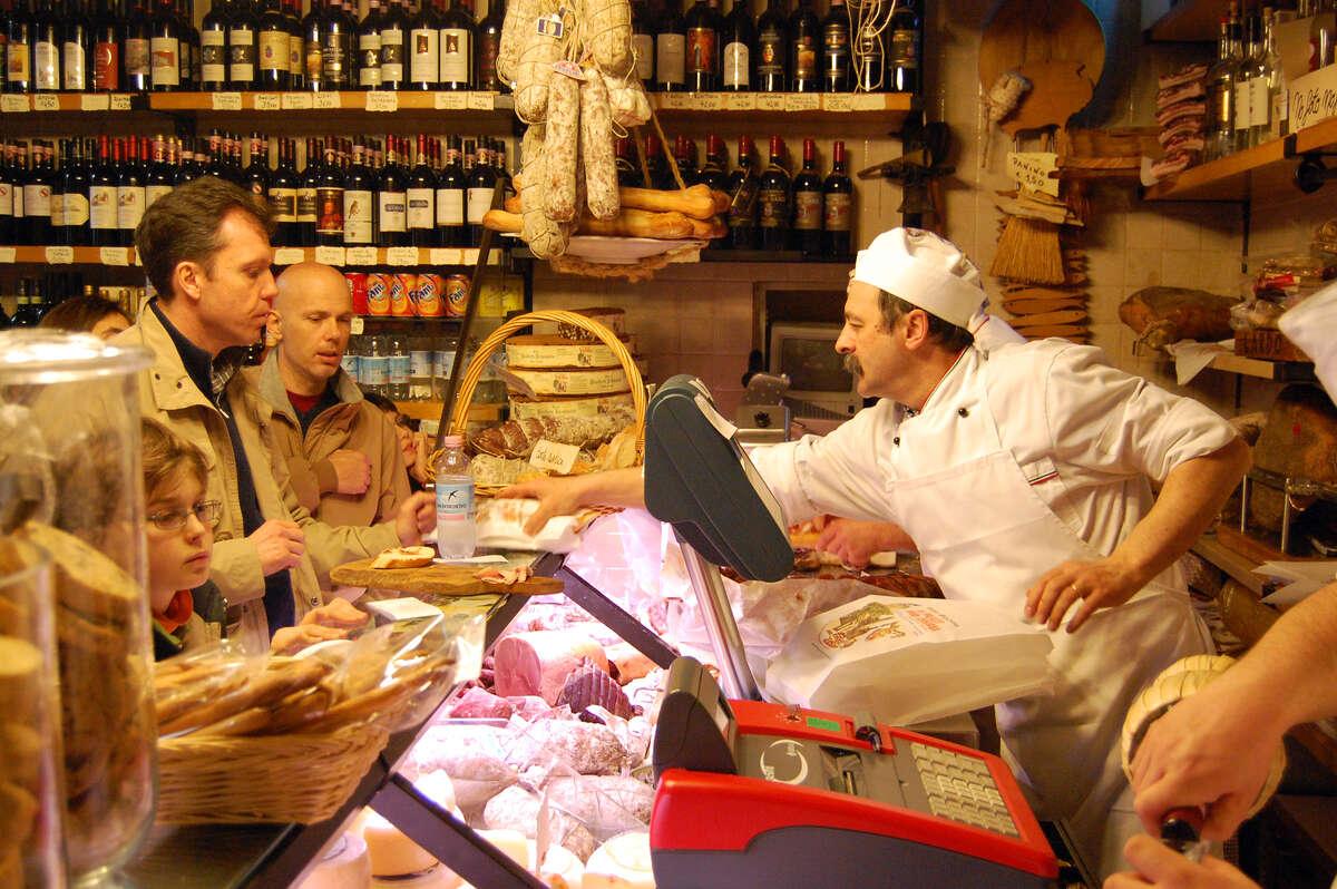 The atmospheric delis in Siena's old town make a fun stop. (photo: Rick Steves)