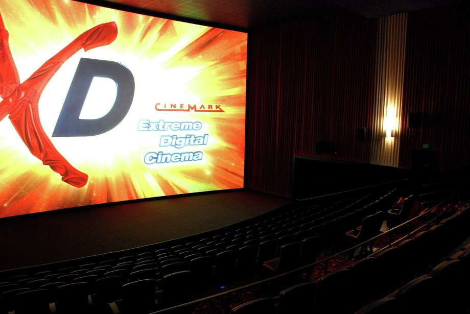 Cinemark debuted its NextGen cinema design concept in its new theater in Spring. Photo: Lindsay Peyton