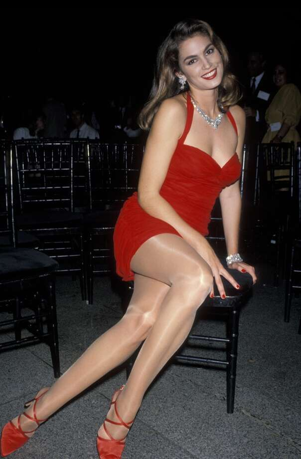 """Supermodel Cindy Crawford, ruler of '90s catwalks and setter of trends on """"MTV's House of Style."""" Photo: Ron Galella, WireImage"""