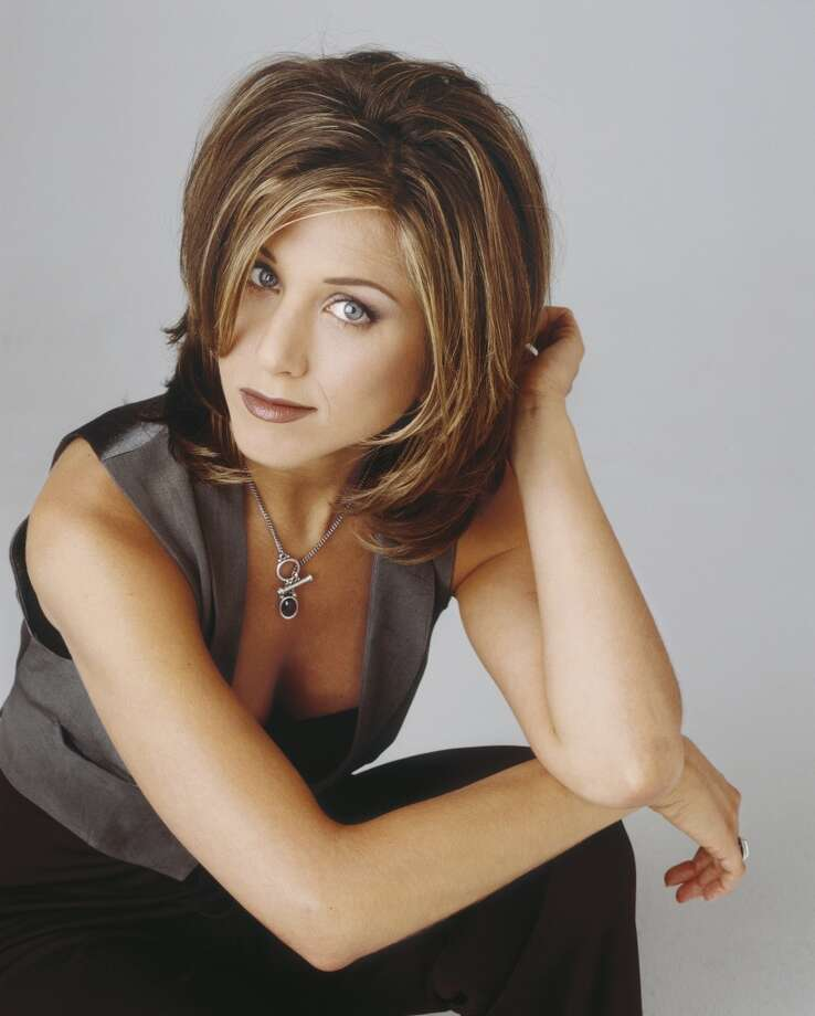 "Jennifer Aniston as Rachel Green on ""Friends."" The 'do that launched a thousand magazine covers (and made Aniston  the show's breakout star) was as ubiquitous to '90s style as novelty mouse pads. Photo: NBC, NBC Via Getty Images"