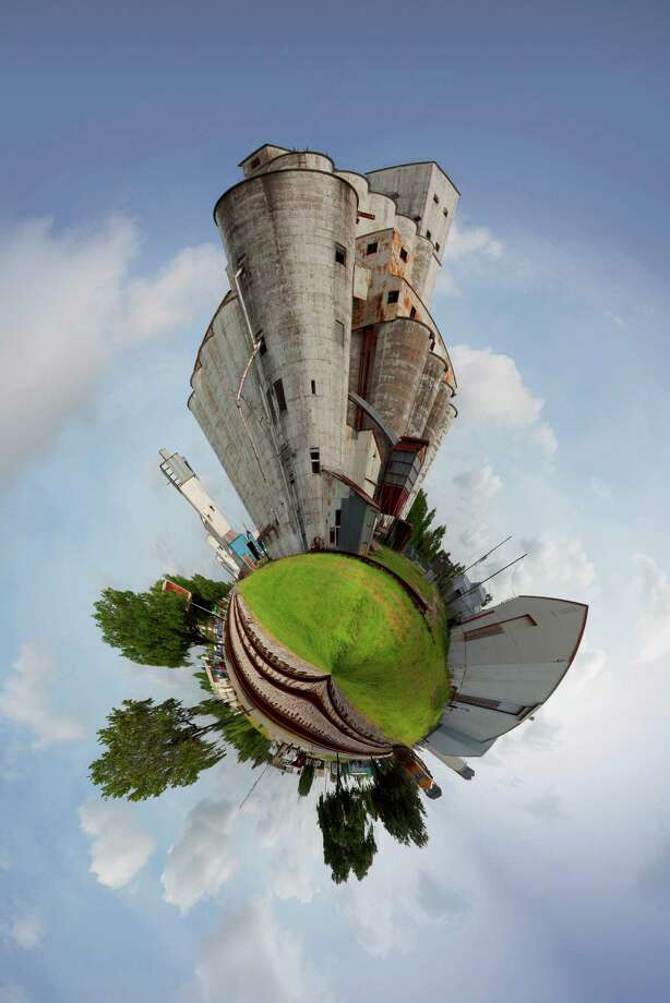"Photos by Ken Bullock in a series called Planet Katy will be featured, including this photo called ""Planet Katy-Grain Silo."" Photo: Ken Bullock"
