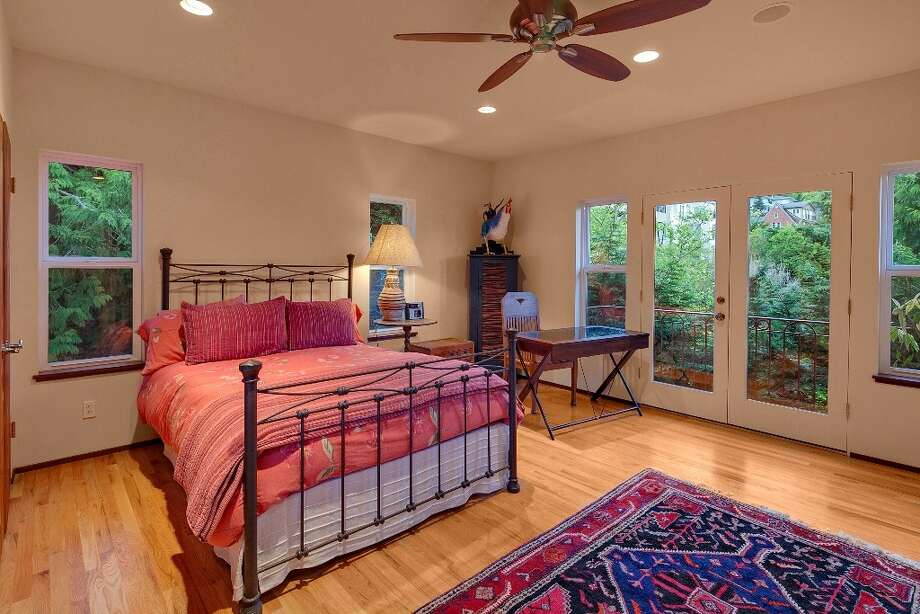 Bedroom of 445 McGilvra Boulevard E. It's listed for $2.488 million. Photo: Courtesy Chris Sudore, Coldwell Banker Bain