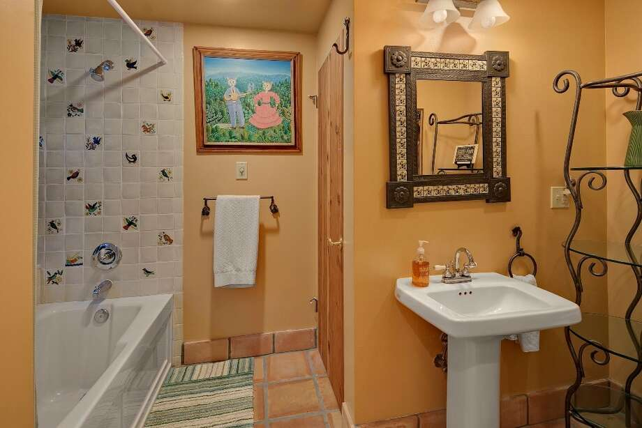 Bathroom of 445 McGilvra Boulevard E. It's listed for $2.488 million. Photo: Courtesy Chris Sudore, Coldwell Banker Bain