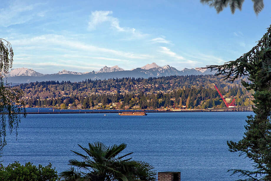 View from 445 McGilvra Boulevard E. It's listed for $2.488 million. Photo: Courtesy Chris Sudore, Coldwell Banker Bain