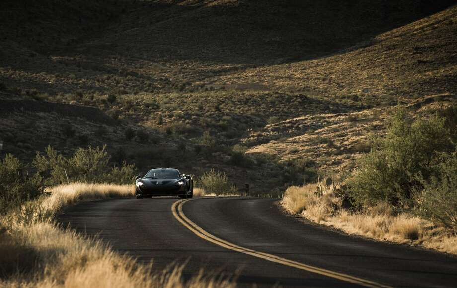 McLaren tested its new P1 model on roads in California, Arizona and Nevada. Photo: Photos Provided By McLaren