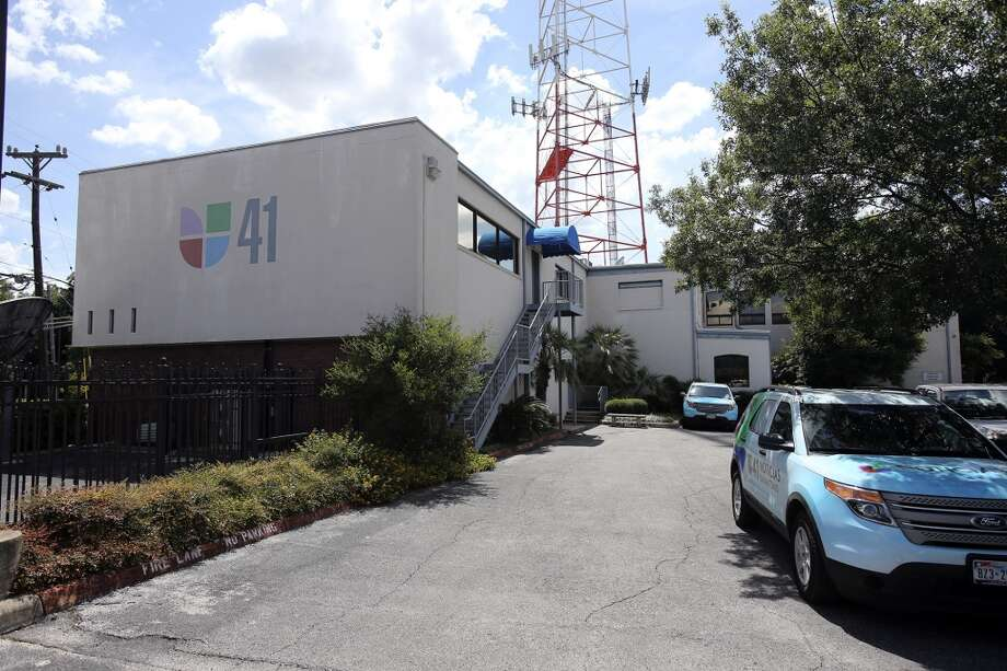 The Univision building in July 2013. Photo: Tom Reel, Express-News