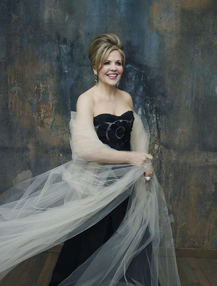 Renée Fleming expands her repertoire whenever possible, singing everything from Arcade Fire to Stephen Foster to Massenet. Photo: Decca/Andrew Eccles