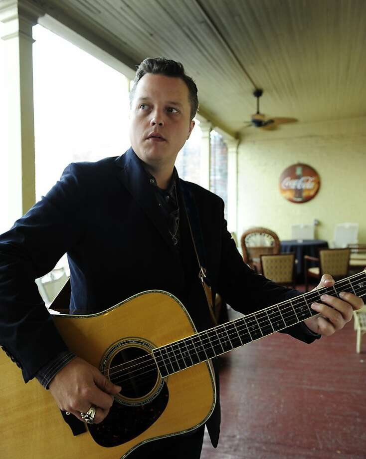 Singer/songwriter Jason Isbell plays the Chapel in S.F. on Friday along with wife Amanda Shires. Photo: Eric England
