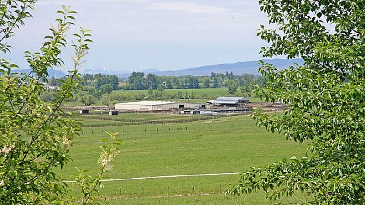 View of Venture Farms, 1850 Venture Road, in Ellensburg. It is scheduled to go up for auction on Sept. 12.