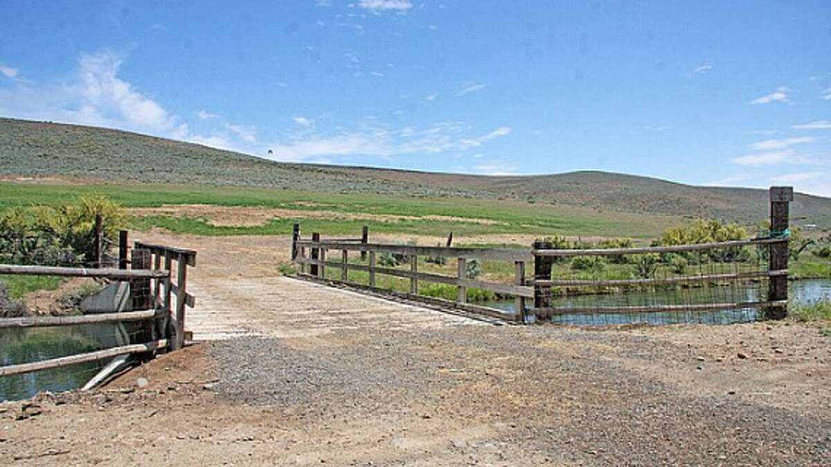 Entry of Venture Farms, 1850 Venture Road, in Ellensburg. It is scheduled to go up for auction on Sept. 12.