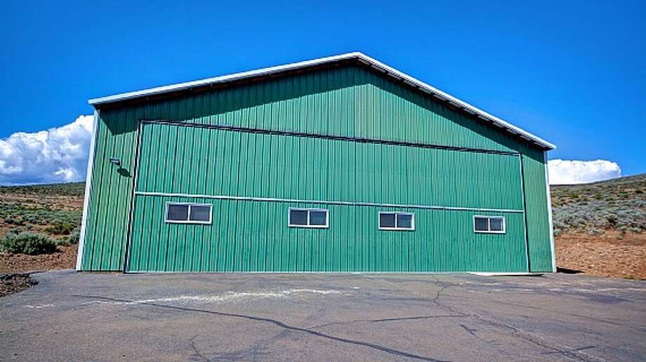 Hangar of Venture Farms, 1850 Venture Road, in Ellensburg. It is scheduled to go up for auction on Sept. 12. Photo: J.P. King Auction Co.