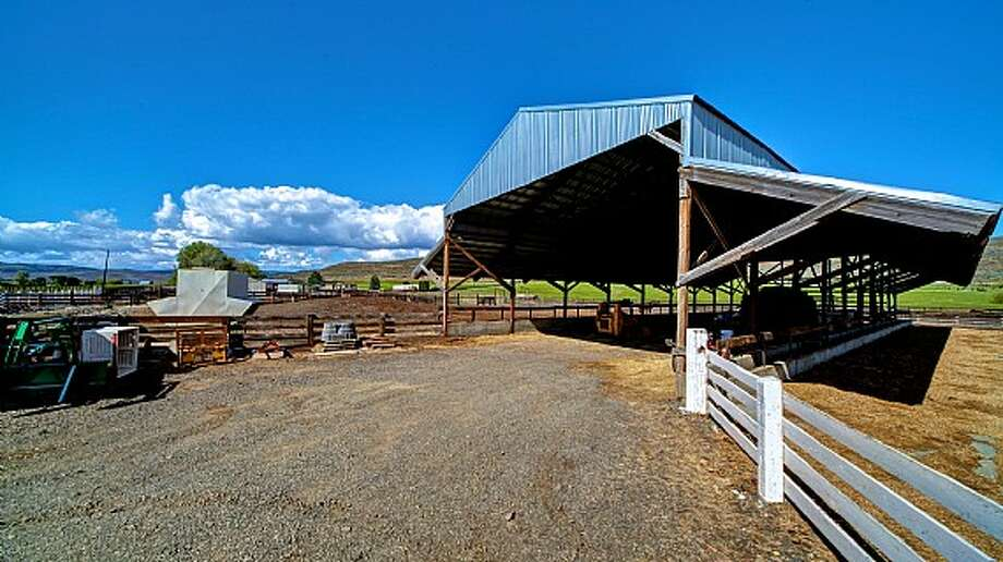 Facilities of Venture Farms, 1850 Venture Road, in Ellensburg. It is scheduled to go up for auction on Sept. 12. Photo: J.P. King Auction Co.