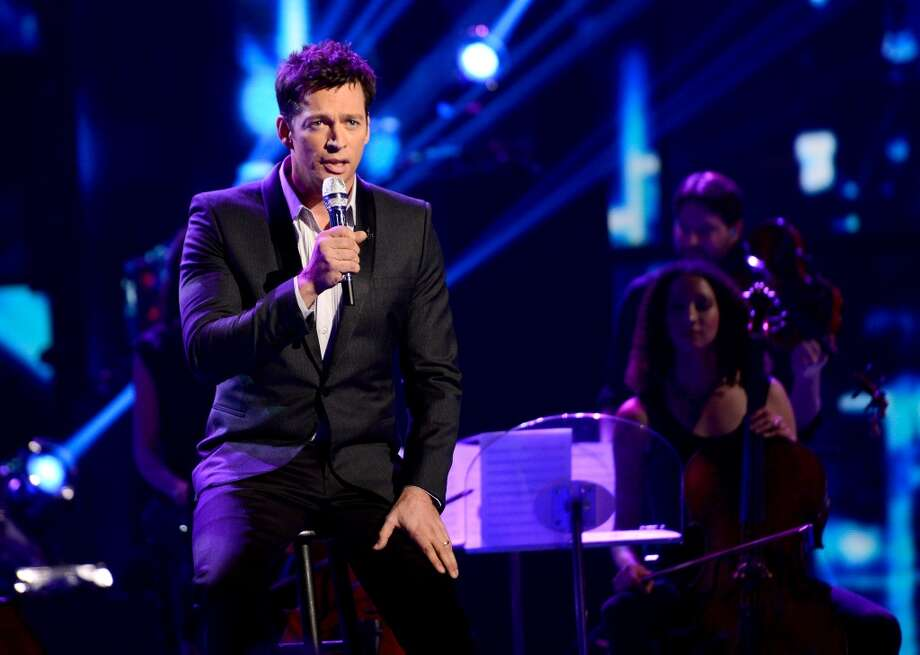 "HOLLYWOOD, CA - MAY 1: Singer Harry Connick Jr. performs onstage at FOX's ""American Idol"" Season 12 Top 4 to 3 Live Elimination Show on May 2, 2013 in Hollywood, California. (Photo by FOX via Getty Images) Photo: FOX"
