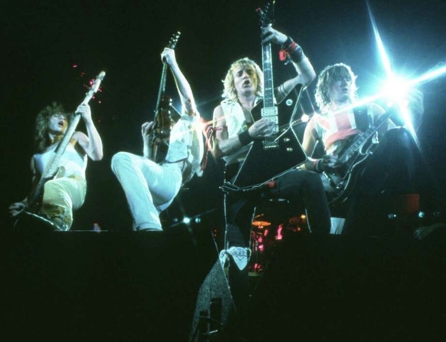 Def Leppard, Seattle Coliseum, 1983 Photo: Michael Ochs Archives, Getty / Michael Ochs Archives