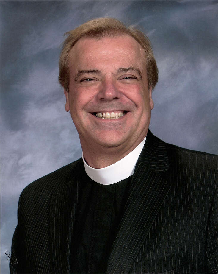 The Rev. Dr. Joseph Krasinski, is the rector of St. James' Episcopal Church on West St. in Danbury. Photo: Contributed Photo