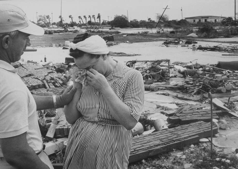 September 10, 1961 – Forty-six people were killed when Hurricane Carla makes landfall. Potentially more deaths were averted by one of the largest evacuations in history. Photo: Grey Villet, Time & Life Pictures/Getty Image