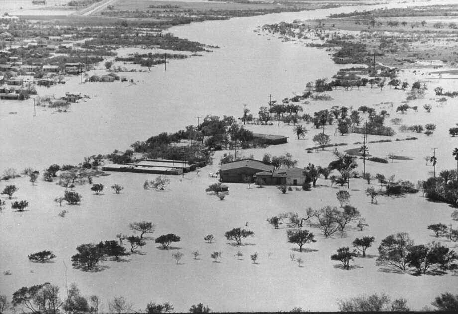 September 26, 1967 – Hurricane Beulah hits near Brownsville, causing massive flooding, spawning several tornadoes and killing 15. Photo: Donald Uhrbrock, Time & Life Pictures/Getty Image