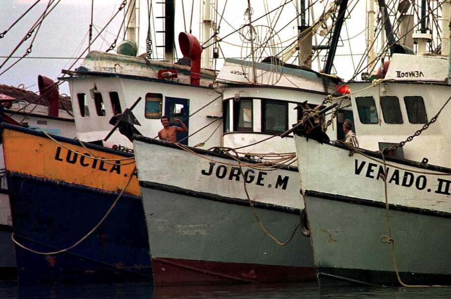 October 1998 – Thirty-one people are killed and large swaths of Central Texas are flooded by Hurricane Madeline. These fishermen were able to save their gulf vessels (pictured), but the state incurs $1.5 billion in damages. Photo: Getty Images