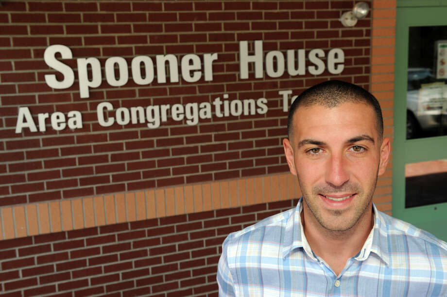 Doug Vellucci, who works at Spooner House shelter in Shelton, Conn. is a part-time employee and wasnâÄôt eligible to be on Spooner HouseâÄôs insurance plan, Sept. 6, 2013. Photo: Ned Gerard / Connecticut Post