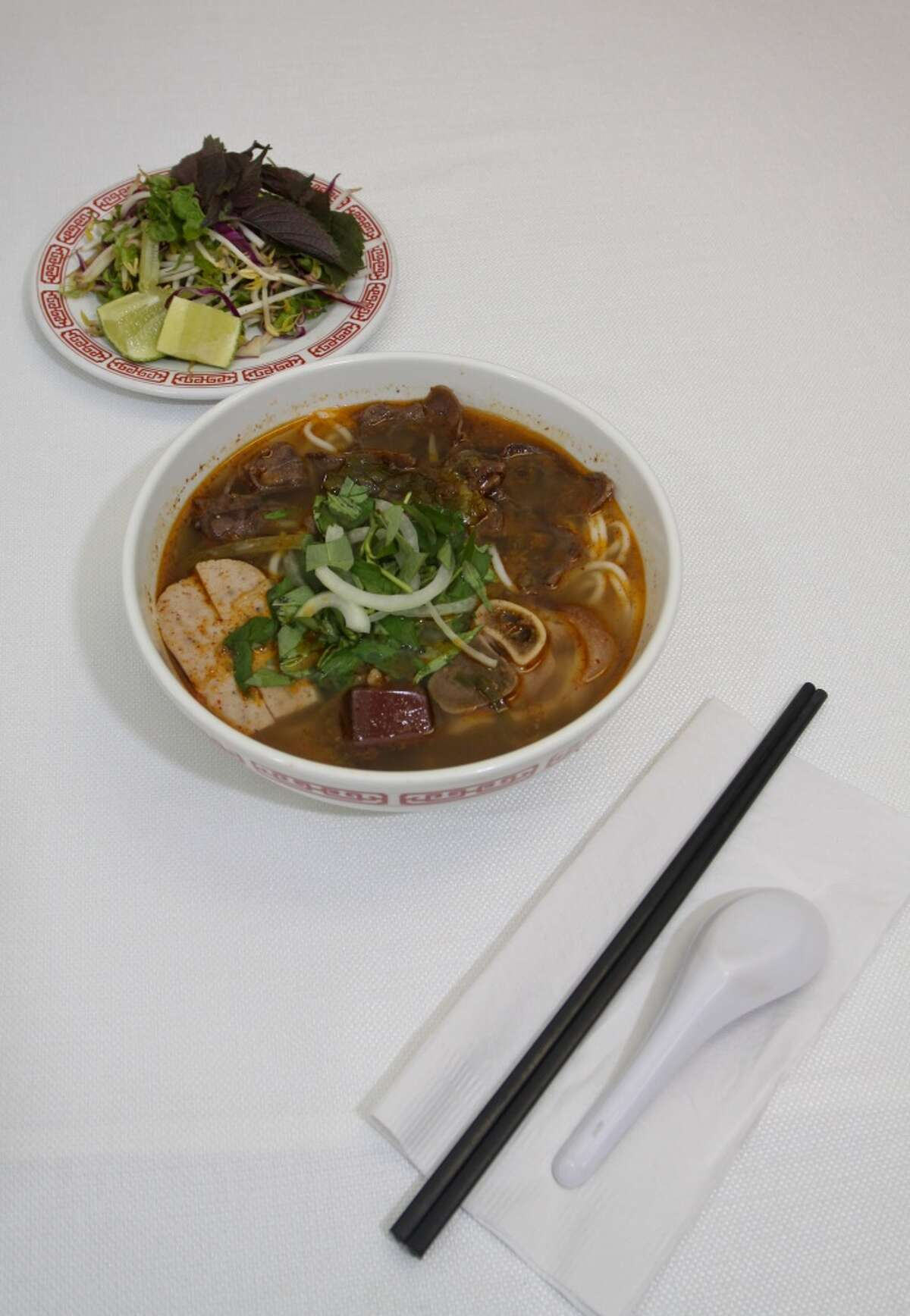 Spicy Lemongrass soup at Cafe TH.