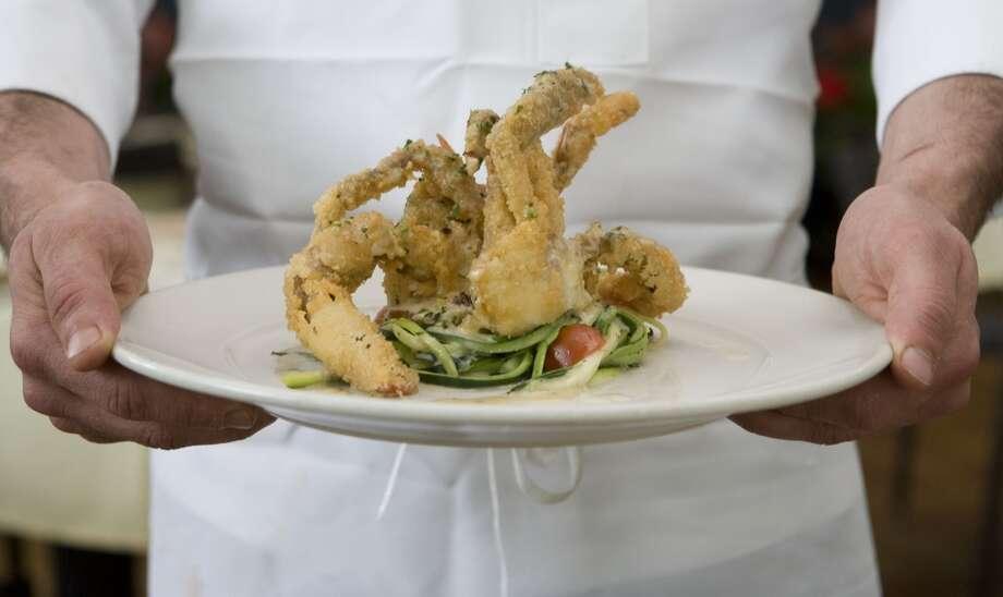 Soft Shell Crab Adriatico at Ciao Bello. Photo: Billy Smith II, Houston Chronicle