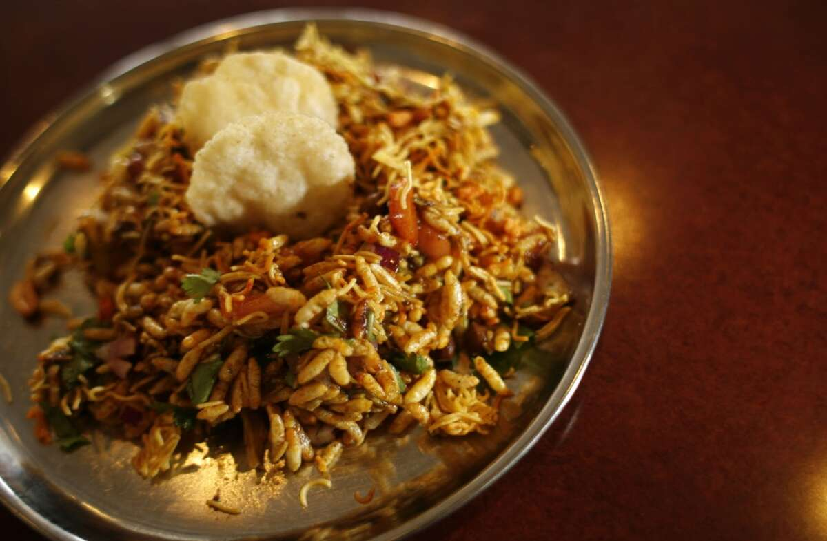 Shri Balaji Bhavan Cuisine: Indian Dish:behl puri Entree price: $ Where: 5655 Hillcroft Phone: 713-783-1126