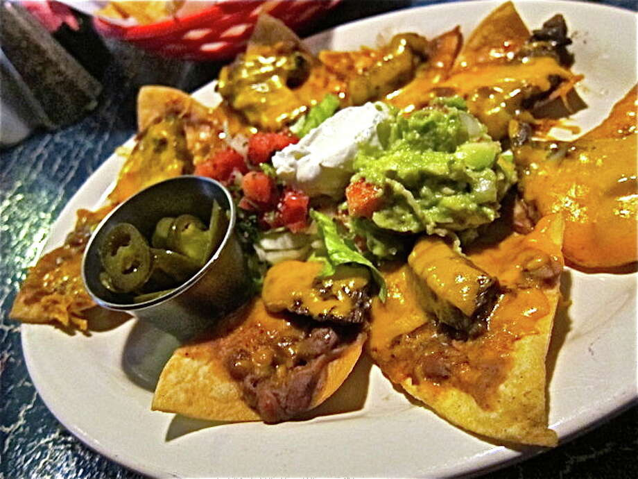 Fajita nachos are among the delicious menu items served at Soto's Cantina. Photo: Alison Cook