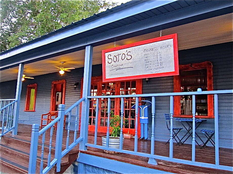 Soto's Cantina features an appealing dining porch. Photo: Alison Cook