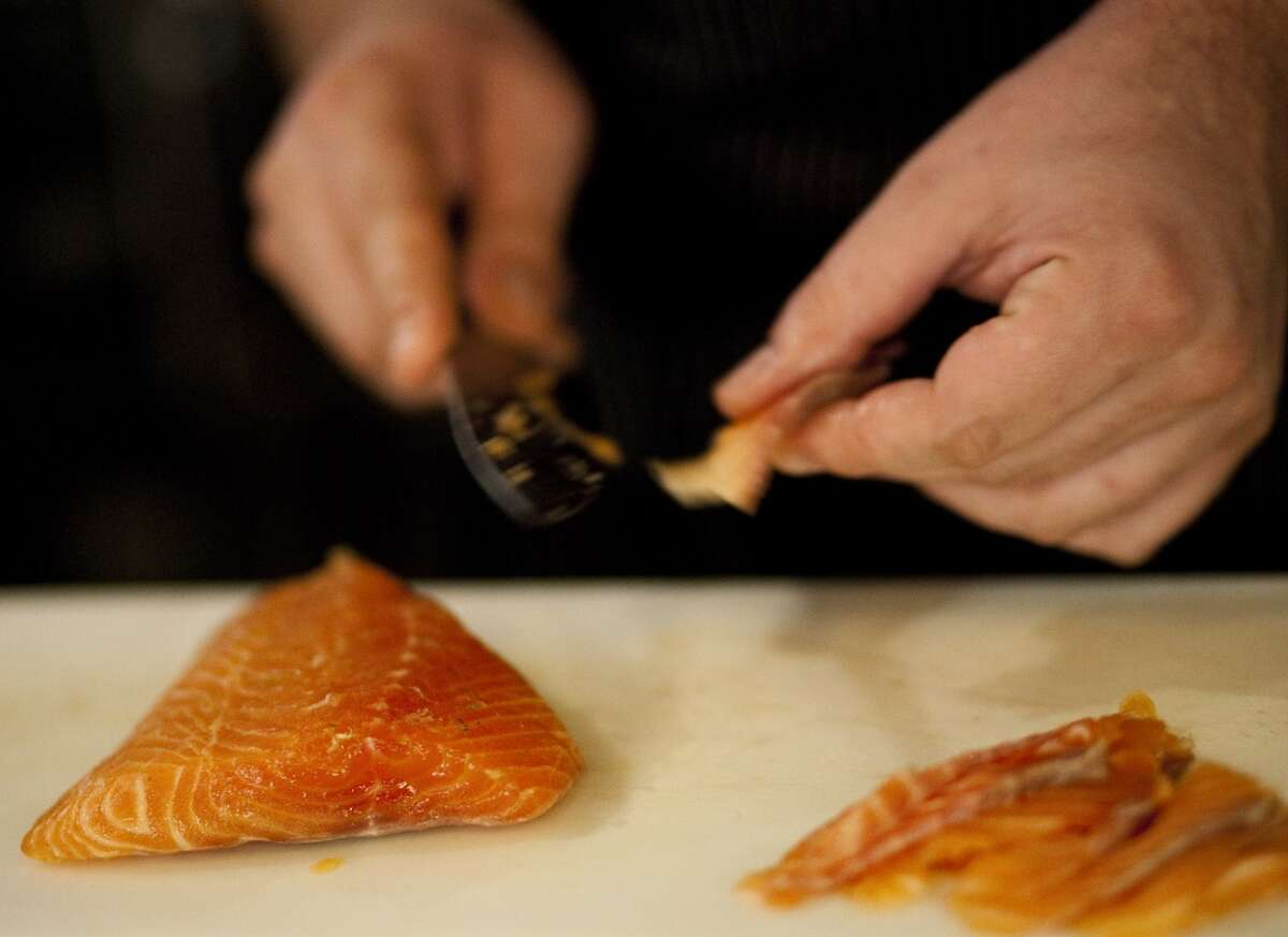 Alaskans voted for sweet-glazed strips of heavily smoked salmon - known euphemistically as