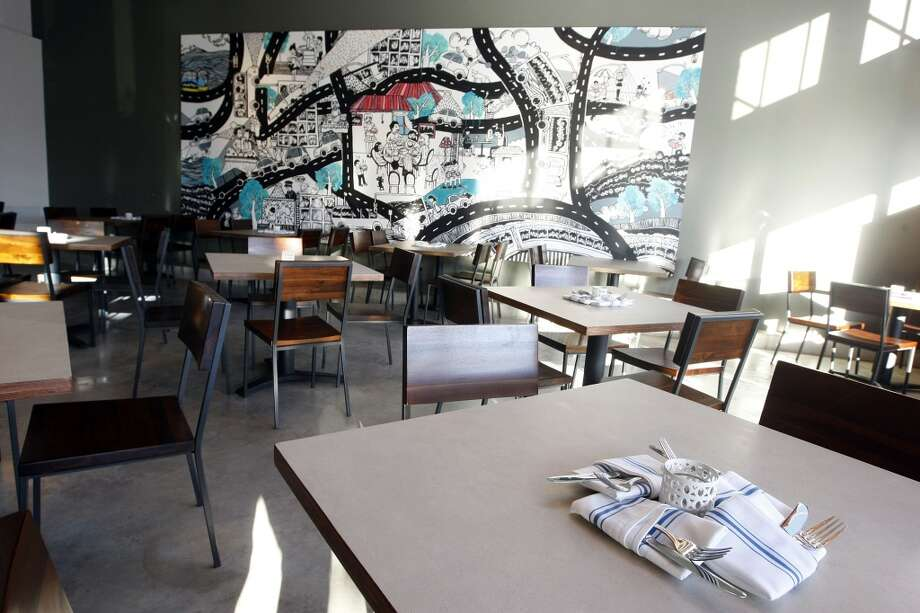 Dining area at Cuchara Friday, Nov. 9, 2012, in Houston. ( Johnny Hanson / Houston Chronicle ) Photo: Houston Chronicle