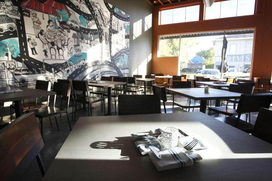 Dining area at Cuchara Friday, Nov. 9, 2012, in Houston. ( Johnny Hanson / Houston Chronicle ) Photo: Houston Chronicle