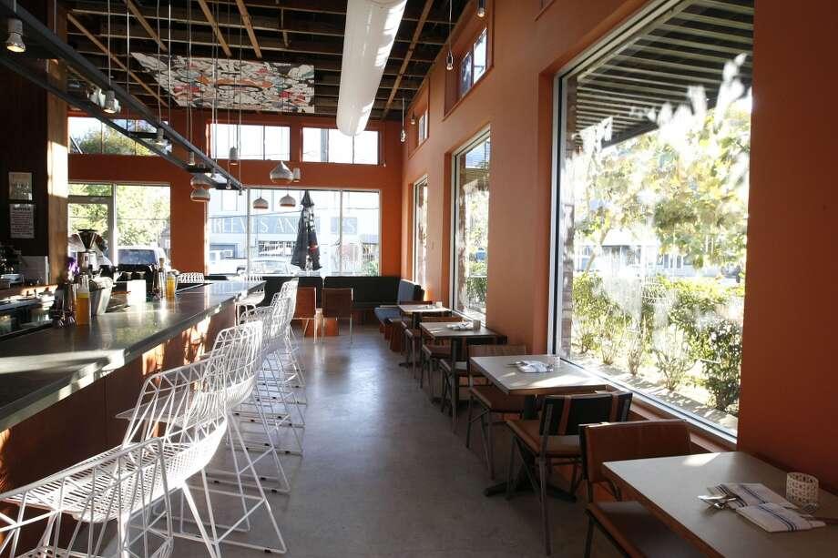 Bar and dining area at Cuchara Friday, Nov. 9, 2012, in Houston. ( Johnny Hanson / Houston Chronicle ) Photo: Houston Chronicle