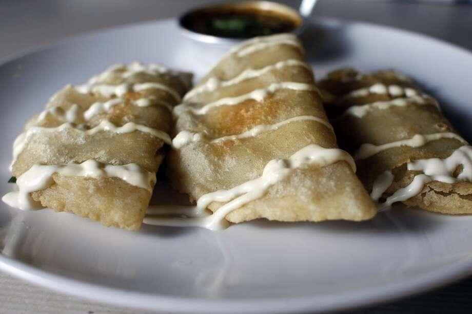 Quesadillas at Cuchara Friday, Nov. 9, 2012, in Houston. ( Johnny Hanson / Houston Chronicle ) Photo: Houston Chronicle