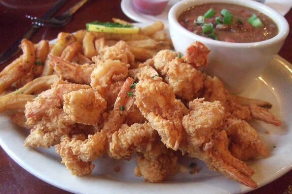 Fried shrimp at Danton's Gulf Coast Seafood Kitchen.