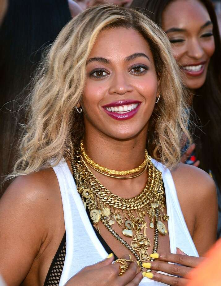 'Run the World' by BeyonceSample lyrics: This is how they made me / Houston Texas baby / This goes out to all my girls / That's in the club rocking the latest Photo: James Devaney, WireImage