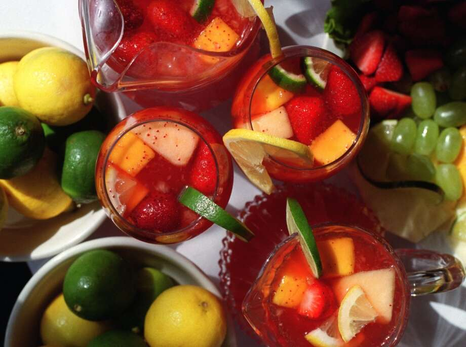 Lemonade that is lime-based and is mixed with blended seasonal fruits such as kiwi, strawberries, watermelon and mango can be found at Irma's. Photo: John Everett, Houston Chronicle