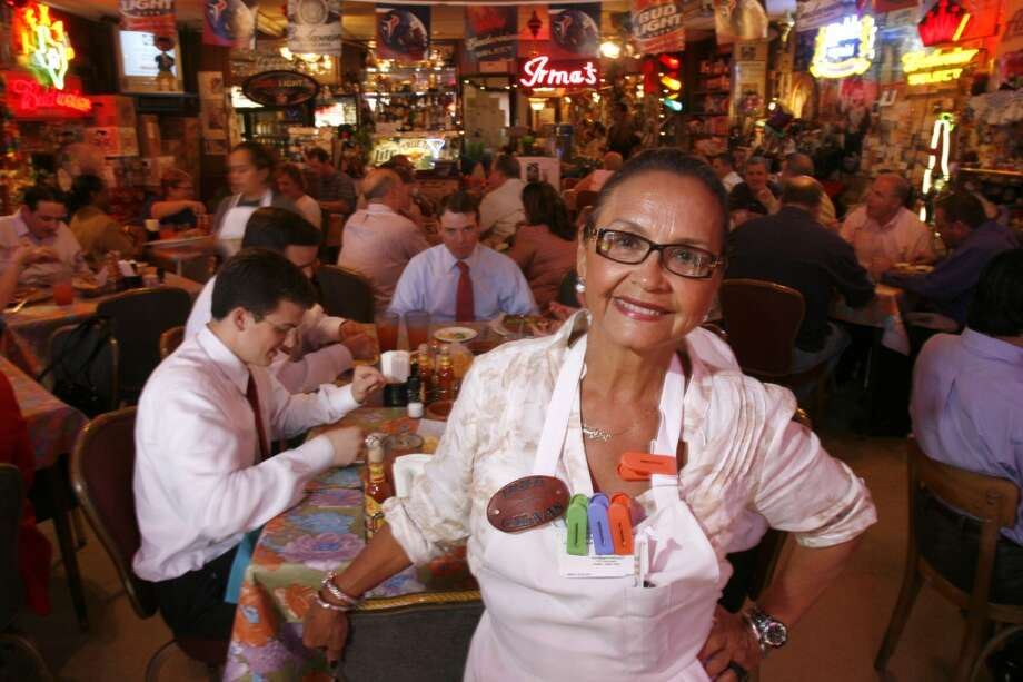 Irma Galvan, owner of Irma's, poses in her restaurant. Photo: Johnny Hanson, For The Chronicle
