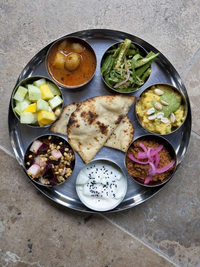 Special thali Pondicheri Photo: TODD SPOTH, For The Chronicle